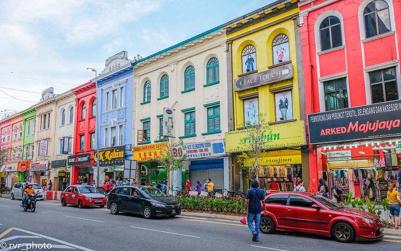 Calles de Kuala Lumpur, Malasia