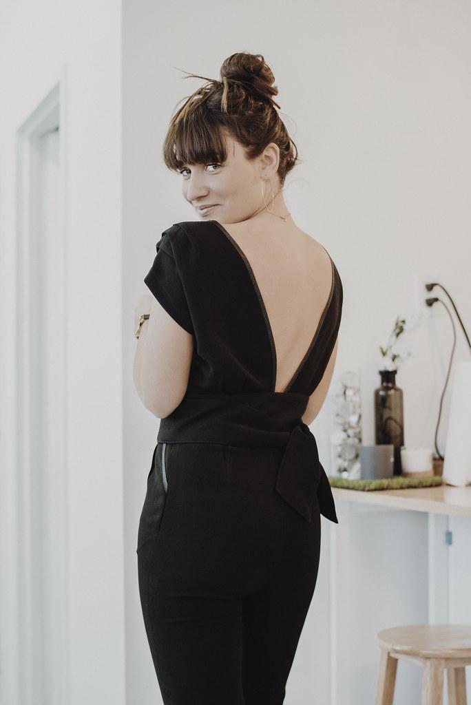 jumpsuit noir