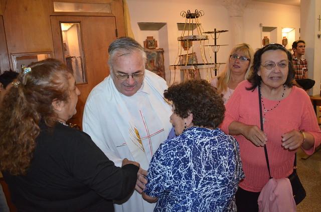 Despedida de sacerdotes montfortianos