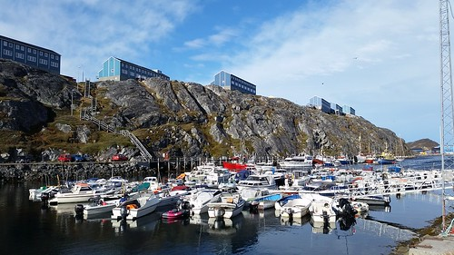 Nuuk Harbor view