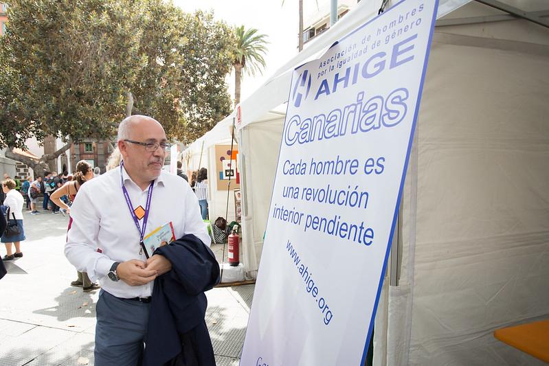 El Cabildo celebra la tercera edición de la Feria por la Igualdad de Gran Canaria.