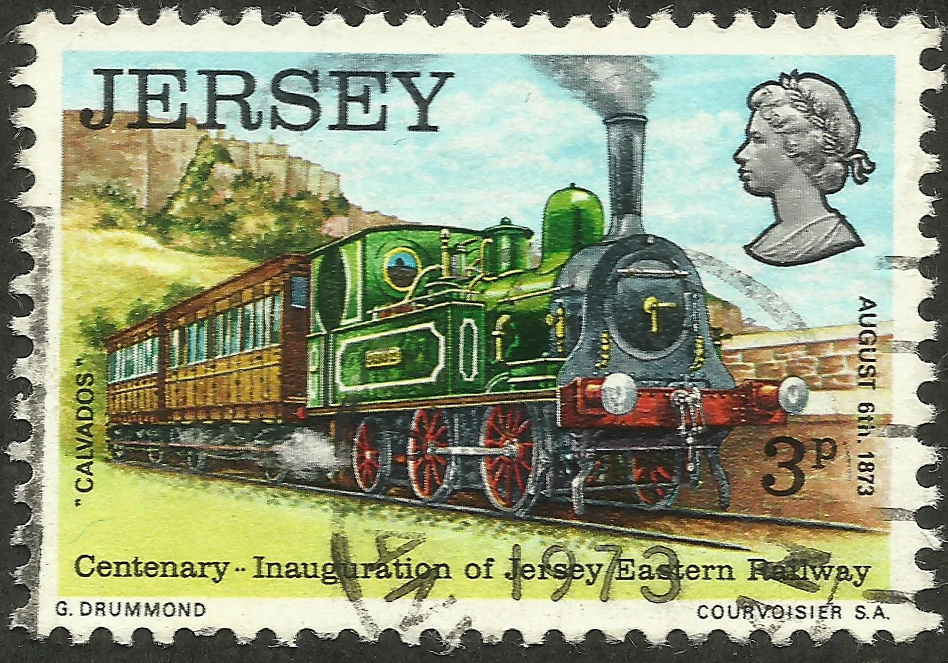 Jersey - Scott #86 (1973)