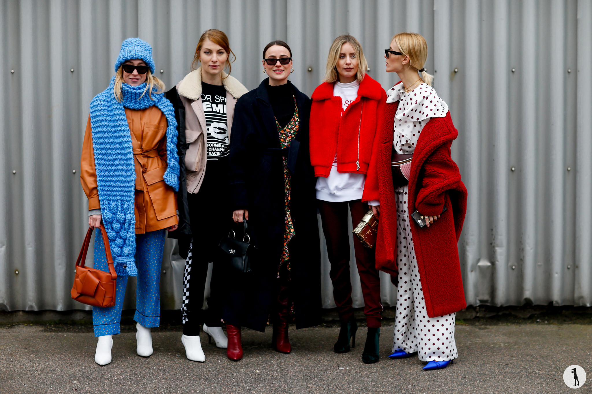 Sonia Lyson, Lisa Banholzer, Lena Lademann, Lisa Hahnbuck and Viktoria Rader - Copenhagen Fashion Week Fall-Winter 2018-2019 (3)