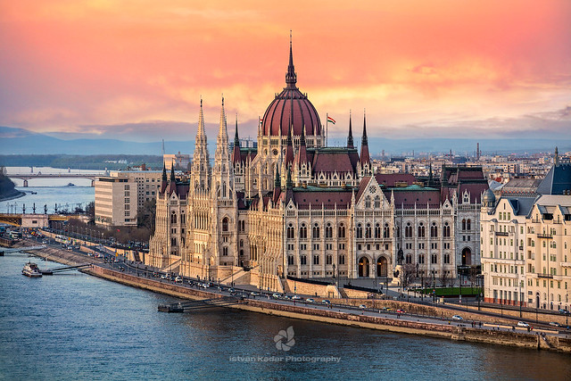 The Parliament of Hungary, Budapest