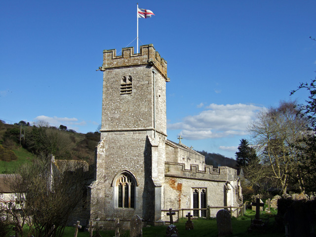 UPWEY, St Laurence (wikimedia commons Mike Searle)