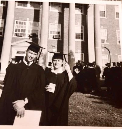 Eliane Van Stichel Graduation 1963