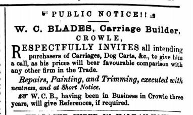 Epworth Bells, Crowle and Isle of Axholme Messenger - 7 October 1882