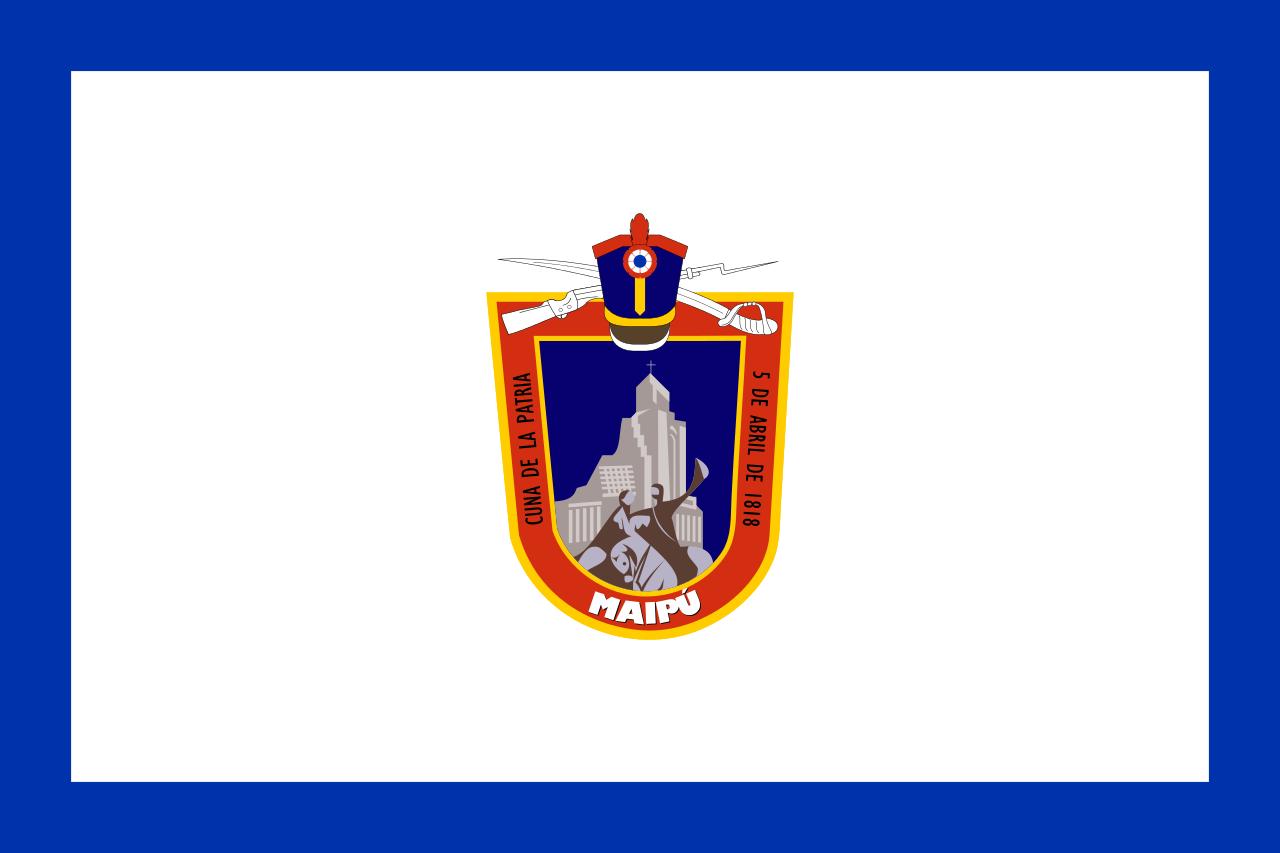 Flag of Maipú, Chile