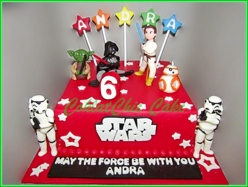 Cake StarWars ANDRA 20 cm
