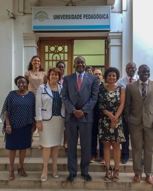 Formação de Formadores em GeoGebra na Universidade Pedagógica de Moçambique para a Instalação do Instituto GeoGebra