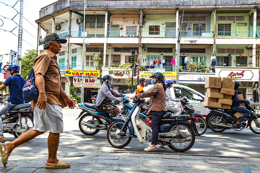 Hau Giang Street--Saigon