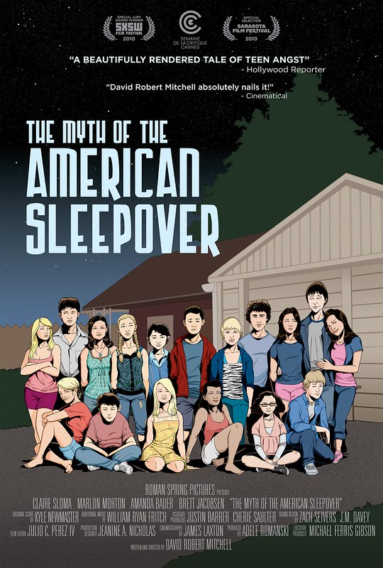 The Myth of the American Sleepover - Poster 1