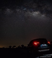 Mazda CX-5 with Milky Way