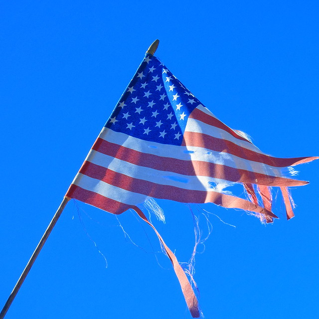 ♫ That Our Flag Was Still There... ♪