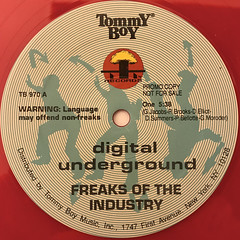 DIGITAL UNDERGROUND:FREAKS OF THE INDUSTRY(LABEL SIDE-A)