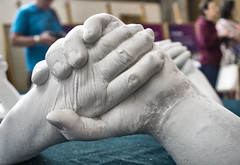 Hands cast