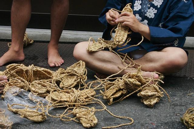 Photo:straw sandals By uBookworm