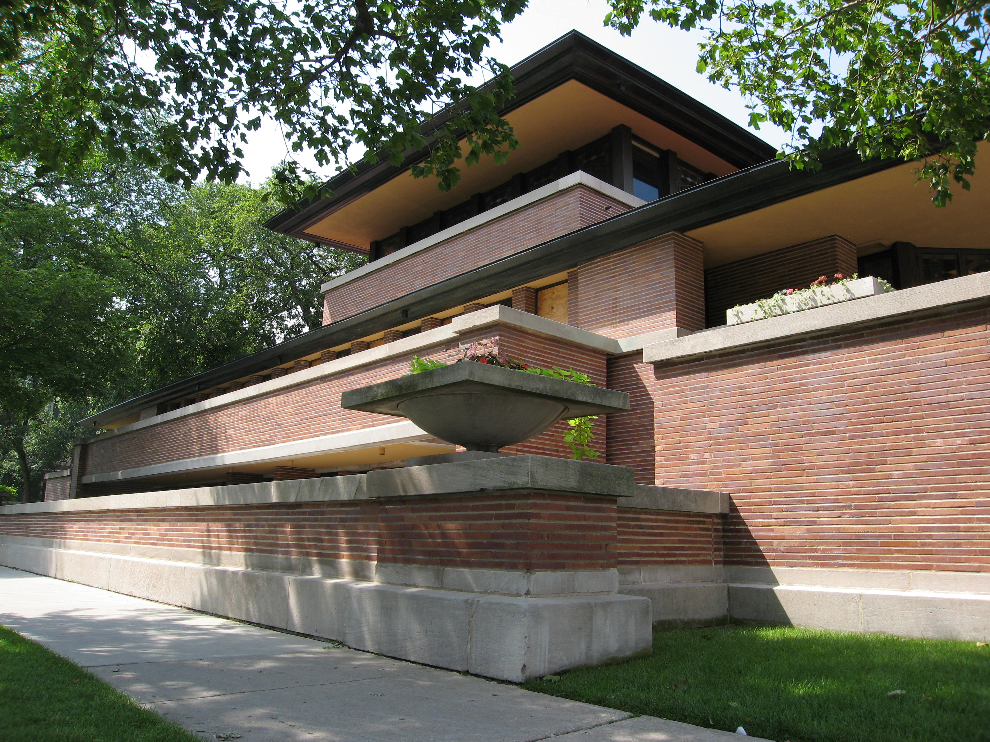 Robie House designed by Frank Lloyd Wright 1909 | Flickr ...