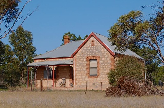 Mallee farmhouse