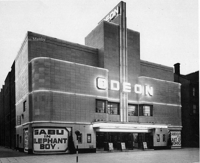 Balham Odeon Exterior Night