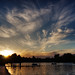 Hyde Park sunset by Simon Crubellier