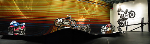 "Guggenheim Las Vegas ""Art of the Motorcycle"" Panorama 8 by Mr. Kimberly"