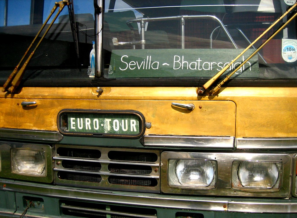 Vatersay Boys' bus