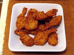 chicken meat, deep frying, fried food, fried prawn, seafood, meat, pakora, food, dish, cuisine, fried chicken, fast food,
