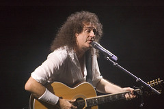 Brian May at Freddie Mercury's 60th