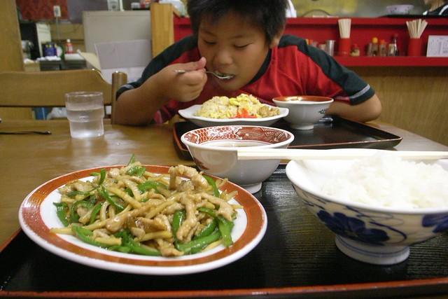 弟とディナー
