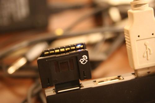 Sandisk UltraII SD plus USB