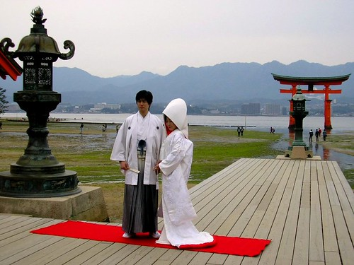 Wedding at itsukushima