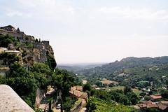 Vue depuis les Baux-de-Provence.