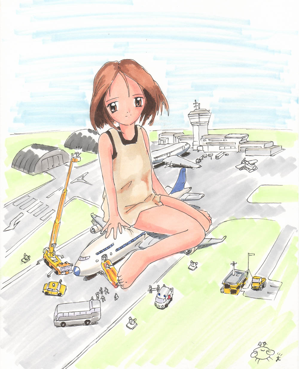 Hot animated giantess adult tube