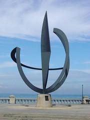 'El Ancla', escultura en el malecón de Puerto Cabello, Estado Carabobo, Venezuela.