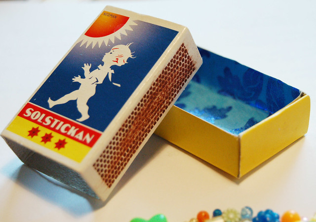 Solstickan Swedish Matchbox