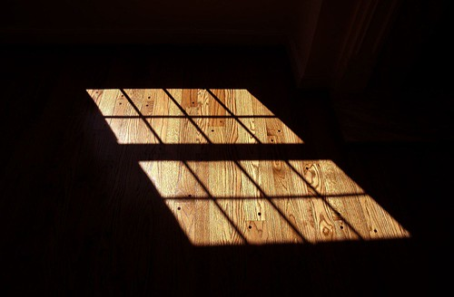 daylight thru a window