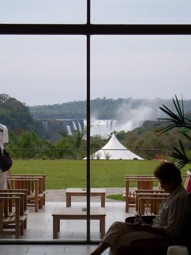 Las vistas del hotel...