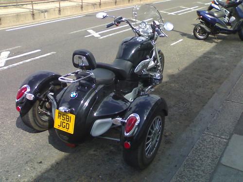 Grinnall BMW Trike rear-end