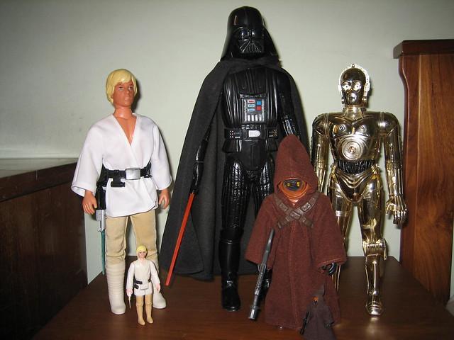 Vintage Star Wars Collectables -