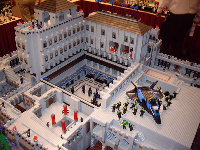 Giant Lego Castle Flickr Photo Sharing
