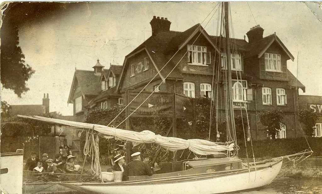 Horning Swan in the early 1900s
