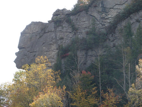 stone face mountain, virginia