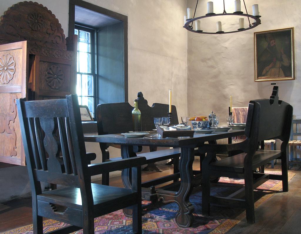 Avila Adobe: Dining Room