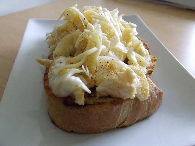 Scrambled Eggs on toast | Flickr - Photo Sharing!