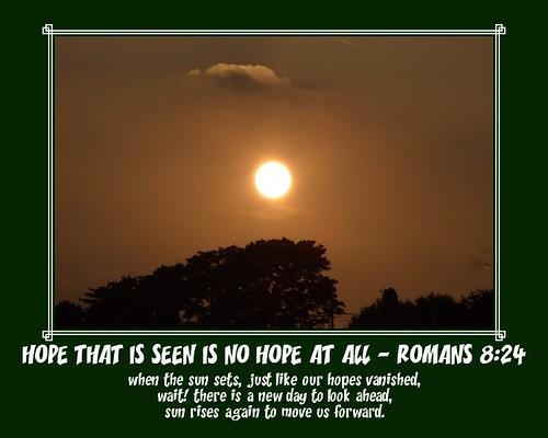 Sun Sets Hope