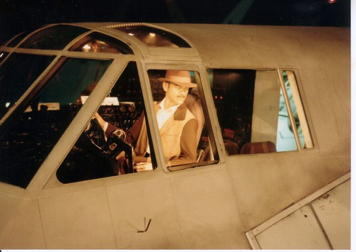 Howard Hughes piloting Spruce Goose