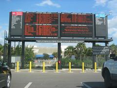 highway, signage, lane, display device, flat panel display, billboard,