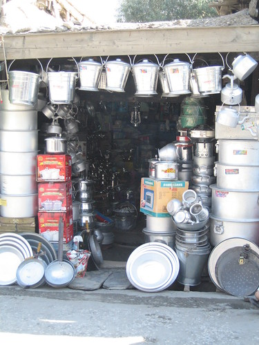 Hardware shop, Chitral
