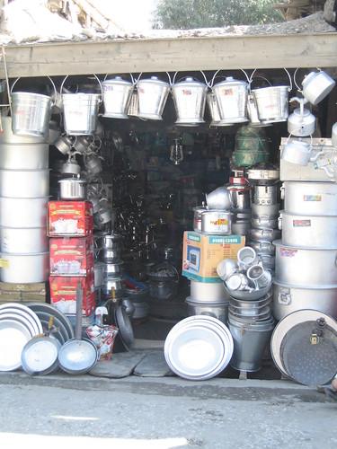 Hardware shop, Chitral